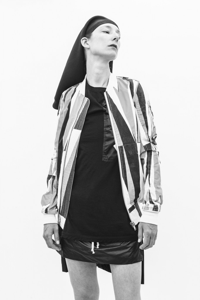 RICK OWENS SS15 FAUN WOMENS DRKSHDW terry-ann frencken 04 july 2014 03